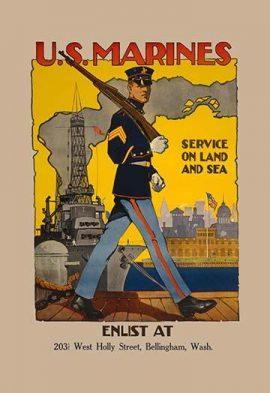 marine corps paintings